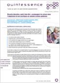 Réussite éducative, santé, bien-être : accompagner les acteurs dans l'adaptation de leurs pratiques en contexte scolaire québécois