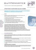 Le Plan d'action en santé mentale 2005-2010 au Québec